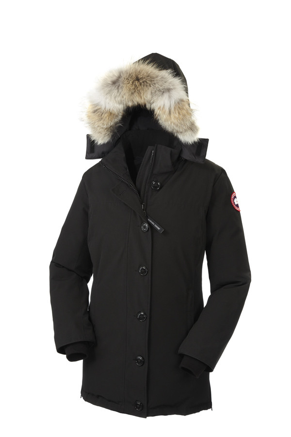 CANADA GOOSE LADIES DAWSON PARKA, BLACK