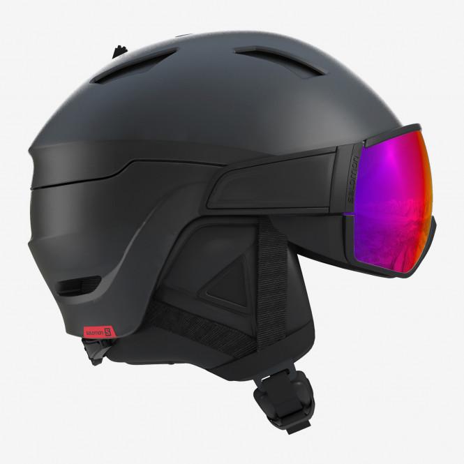 SALOMON DRIVER Black/Red Accent/Solar