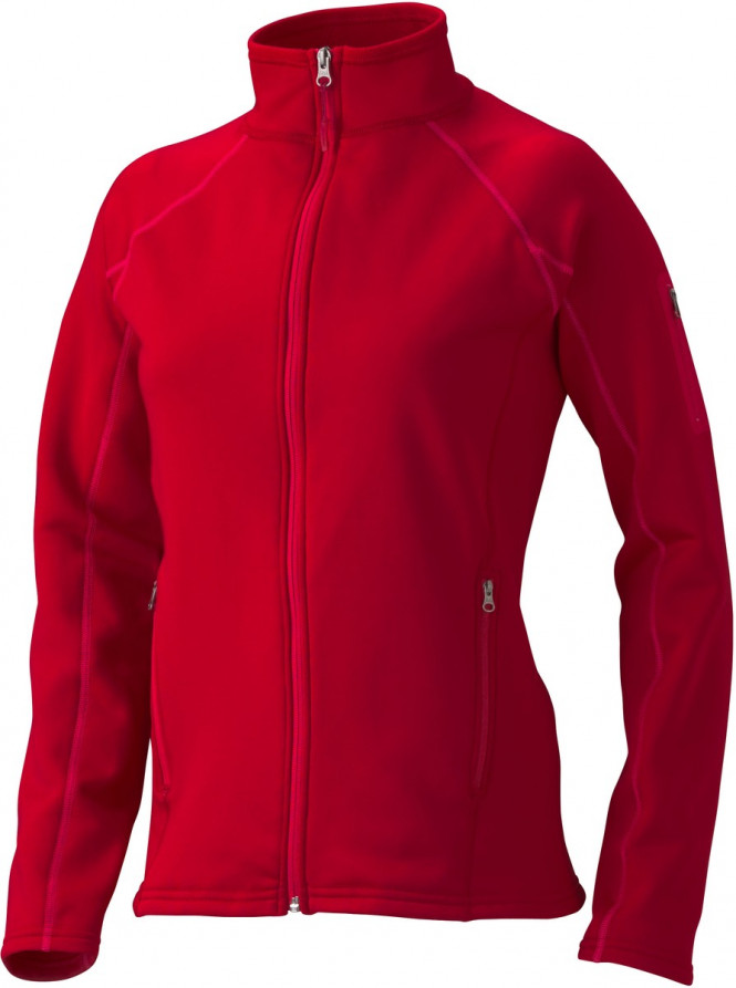 Marmot Wms Stretch Fleece Jacket, Raspberry