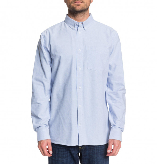 THE OXFORD 2 LS M, Light Blue