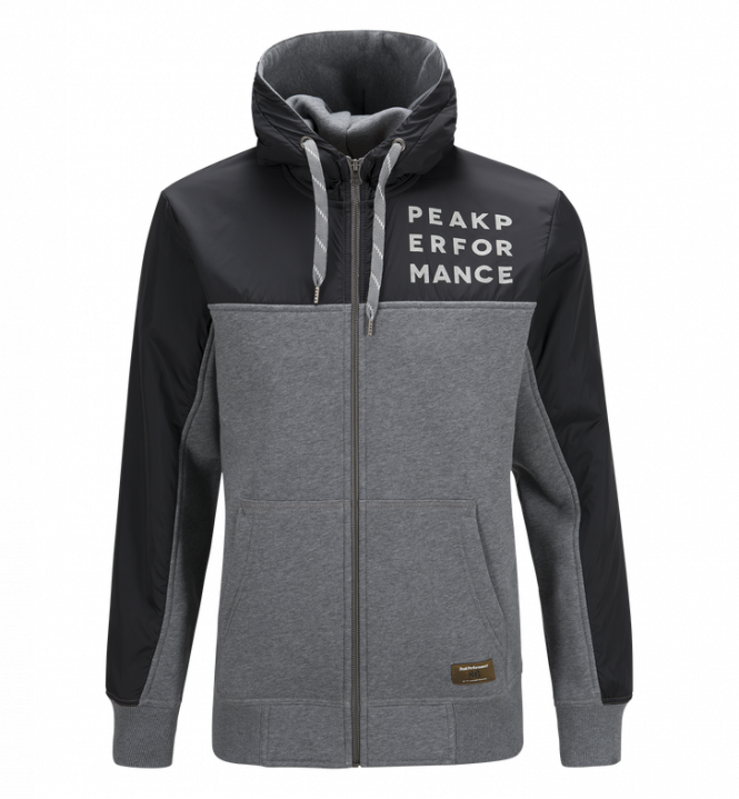 Peak Performance SWEAT NY Z, Grey melange
