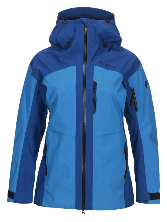 Peak Performance W GRAVITY JACKET, Island Blue