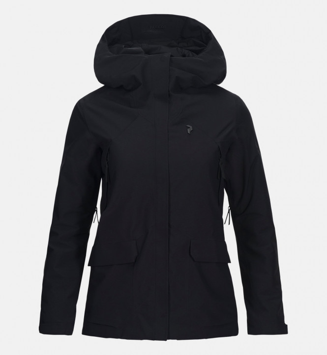 Peak Performance W BLIZZ JACKET, Black