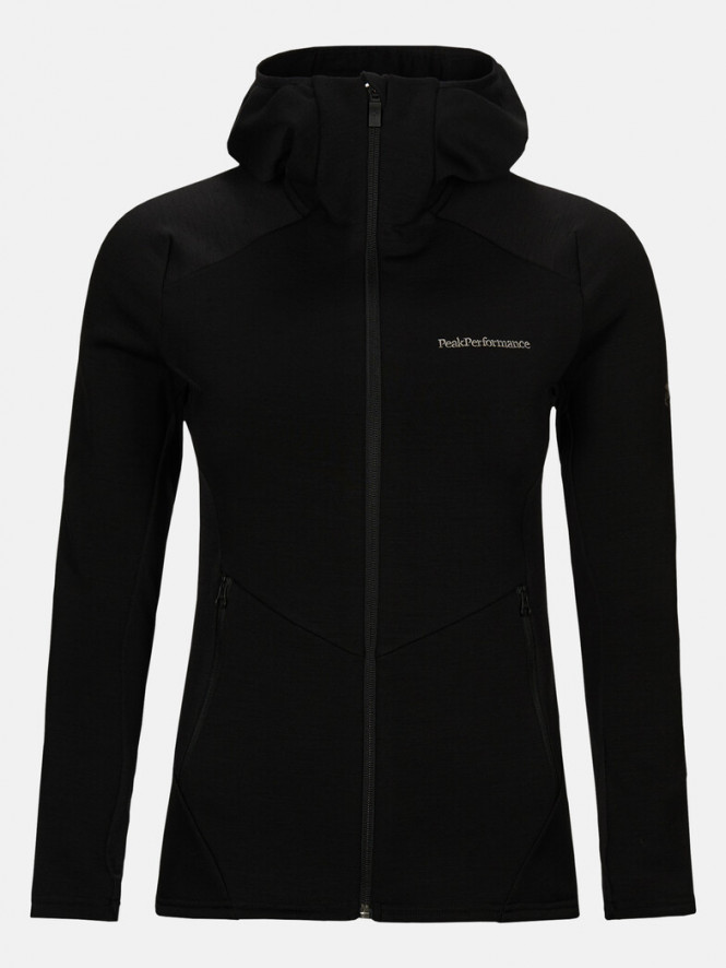 Peak Performance WVertical Mid Hood Jacket Black