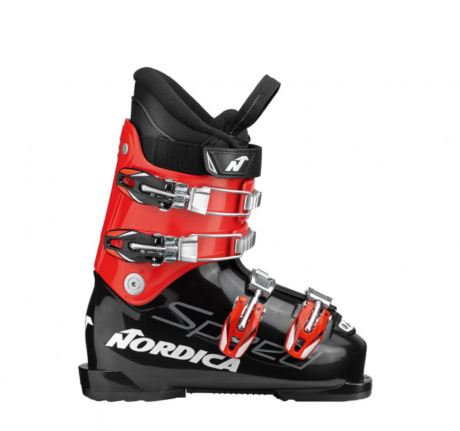NORDICA Speedmachine J4 Svart/Röd