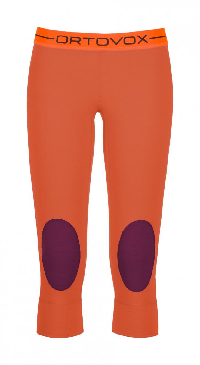 Ortovox Merino 185 RNW Short Pants W, Crazy Orange