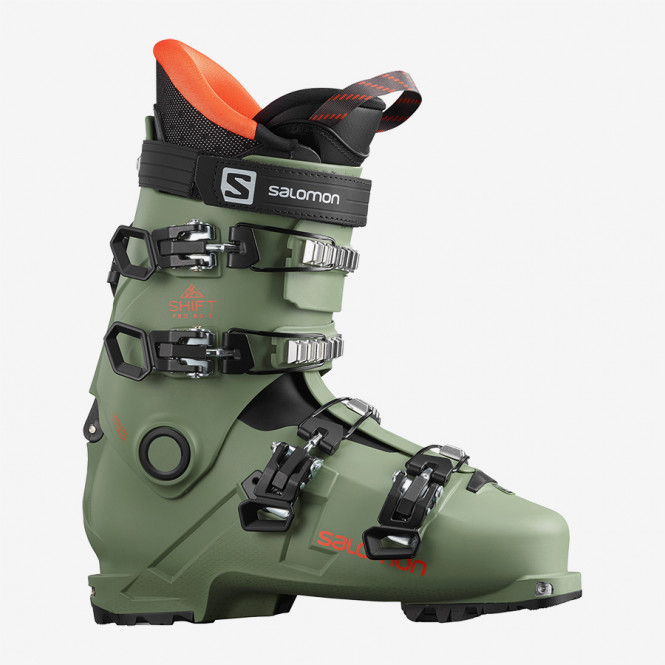 SALOMON SHIFT PRO 80 T AT OIL GREEN./BLACK/Orang