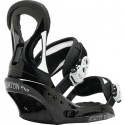 BURTON STILETTO EST BLACK/WHITE