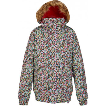 BURTON GIRLS TWIST BOMBER JACKET, PIXI DOT TROPIC