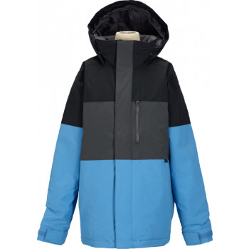 BURTON BOYS SYMBOL JACKET, TRUE BLACK BLOCK