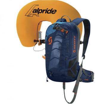 Scott Pack Air Free AP 12 Pro Kit, Black irisblue jewel, Normal lenght