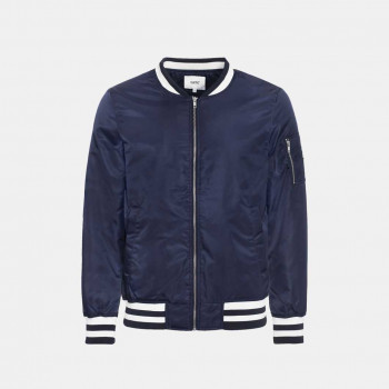 WeSC The Bomber padded jacket, navy blazer