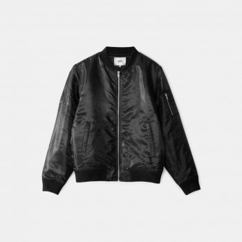 WeSC The Bomber padded jacket, black