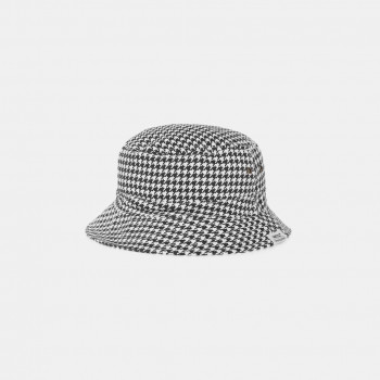 WeSC Dogtooth bucket hat, winter white