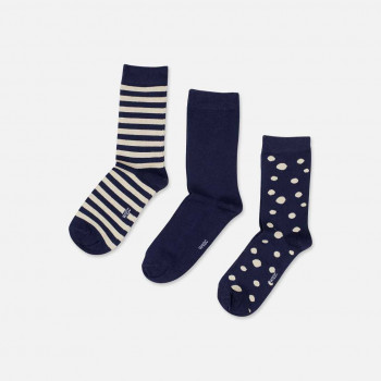 WESC Stanie 3-pack socks, nazy blazer