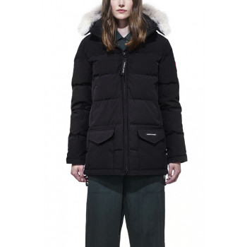 CANADA GOOSE LADIES SOLARIS PARKA, BLACK