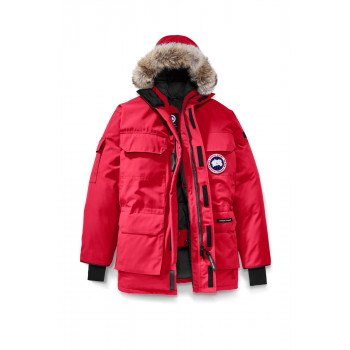 CANADA GOOSE EXPEDITION PARKA, RED