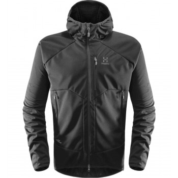 Haglöfs Multi WS Hood Men, True Black