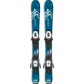SALOMON L QST MAX Jr XS + C5 GW J75 Blue/White