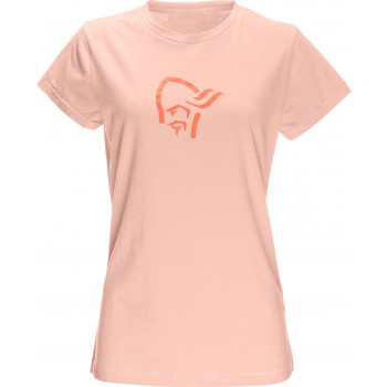 Norröna /29 cotton logo T-Shirt (W), World Peach