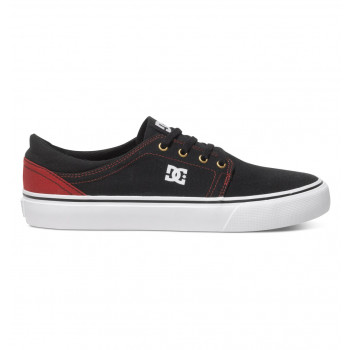 DC TRASE TX SHOE, BLACK/RED