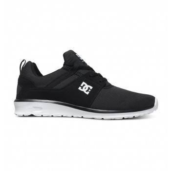 DC HEATHROW M SHOE, BLACK/WHITE