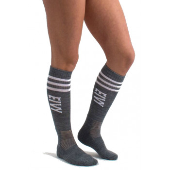 Eivy Cheerleader Alpine Socks, Grey Melange