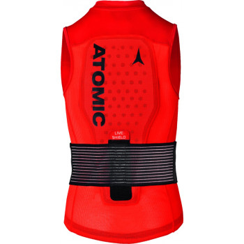 ATOMIC LIVE SHIELD Vest JR Red