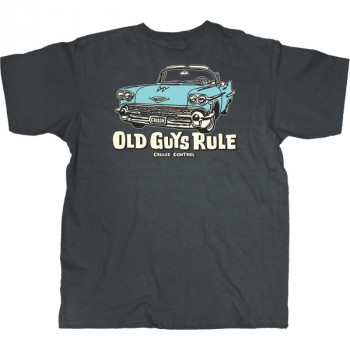 OLD GUYS RULE CRUISE CONTROL, CHARCOAL