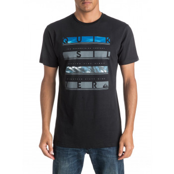 Quicksilver READBETWEEN M TEES, BLACK