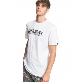 NEWSLANGSS M TEE, White