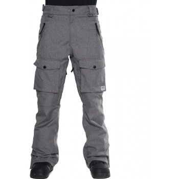 Colour Wear Flight Pant, Grey Melange