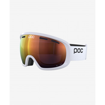 POC Fovea Clarity, Hydrogen White/Spektris Orange