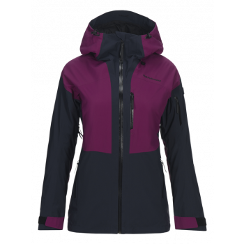 Peak Performance W GRAVITY 2L JACKET, Blood Cherry