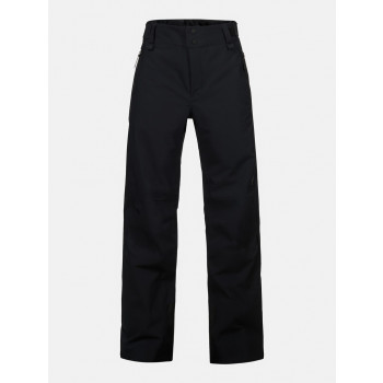 Peak Performance Jr Maroon Pants Black