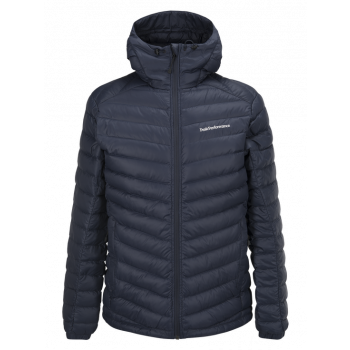Peak Performance FROST DOWN HOOD, ARTWORK BLUE