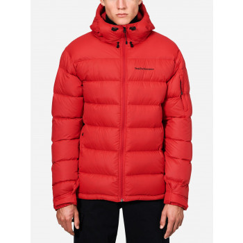Peak Performance FROST DOWN JACKET, Red Pompeian