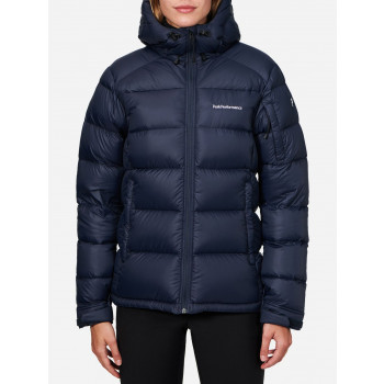 Peak Performance W FROST DOWN JACKET, ARTWORK BLUE