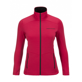 Peak Performance W HELO MID JACKET, Pink Planet