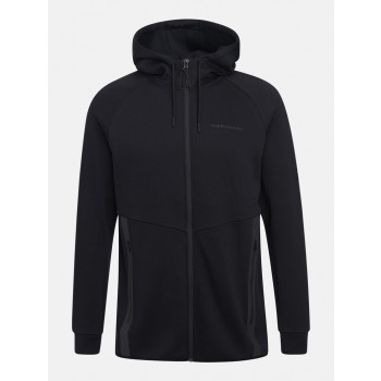 Peak Performance M Tech Zip Hood Black
