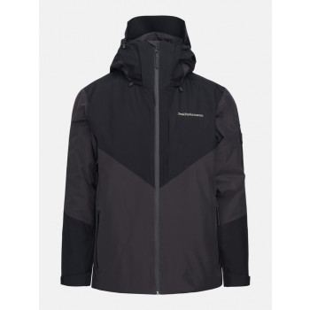Peak Performance M Maroon GTX Jacket Iron Cast