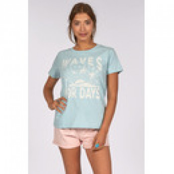 Billabong FIRST TEE, CLOUD BLUE