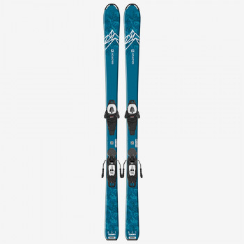 SALOMON L QST MAX Jr M + L6 GW J2 80 Blue/White