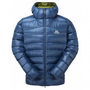 Mountain Equipment Dewline Hooded Jacket, Marine