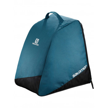 SALOMON ORIGINAL BOOT BAG BLACK/Process Blue/WH