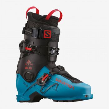 SALOMON S/LAB MTN BLACK/Transcend Blue/Red