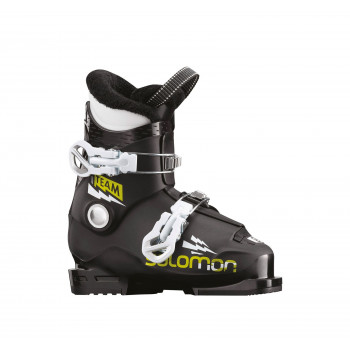 SALOMON Team T2 Black/Acid Green/White