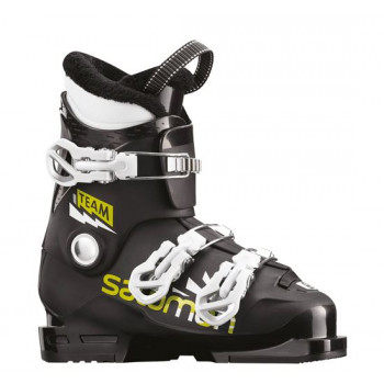 SALOMON Team T3 Black/Acid Green/White