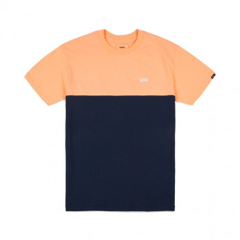 Vans MN COLORBLOCK TEE , APRICOT ICE-DRESS BLUES