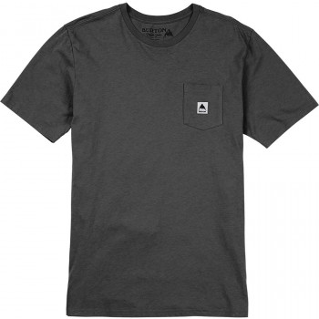 Burton MB COLFAX SS TEE, TRUE BLACK